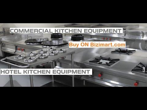 Commercial Kitchen Equipment Price ~ Small Cafe Restaurant Kitchen Setup Manufacturers Sale Bizimart