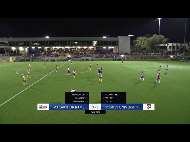 Highlights: Grand Final - Macarthur Rams FC v Sydney University FC