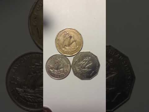 East Caribbean State coin 1981-1997-2004