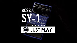 BOSS SY-1 Synthesizer Effect Pedal | Better Music