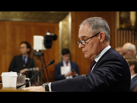 EPA-Hating Scott Pruitt Confirmed Head Of EPA