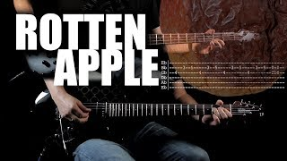 Rotten Apple - Alice in Chains | Vocal + Guitar Cover | Solo + Tabs | Bass Cover
