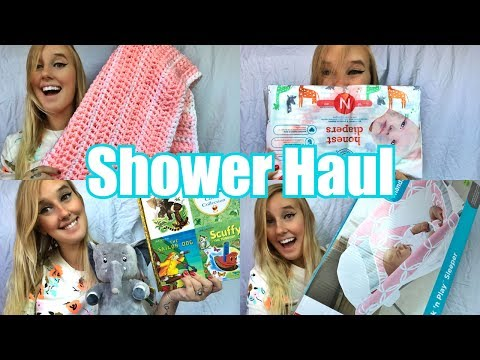 BABY SHOWER HAUL 2017 l We're ready for her arrival! l RaisingLily
