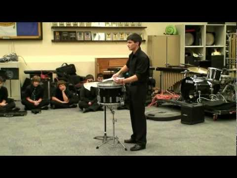Snare Solo - Rhythmic Incantation - Kevin Cannon