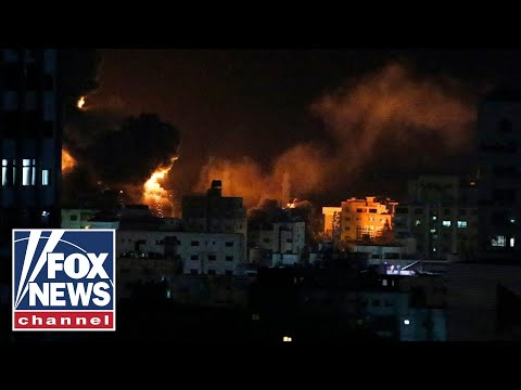 Israeli military responds to rocket fire from Gaza