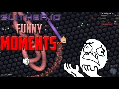 Slitherio Funniest Fails Ever!! – – Slither Funny Moments(slither.io)