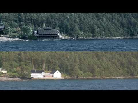 VFX Shot - Pan Along A Coastline In Norway - Real vs. CGI