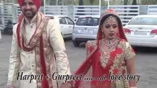 Harprit weds Gurpreet (Punjabi wedding in Punjab)