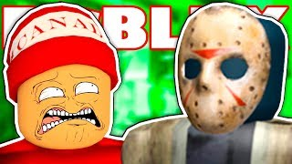 A COWARD AGAINST JASON IN ROBLOX → Roblox funny moments #102 🤣🎮
