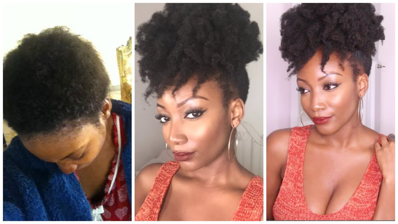Black Natural Hair Growth Journey