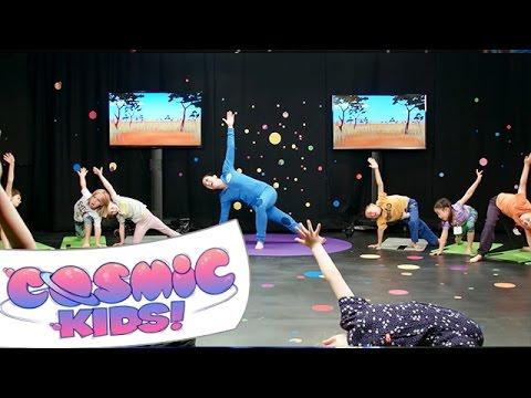 Cosmic Kids Yoga Live! | Lulu the Lion Cub