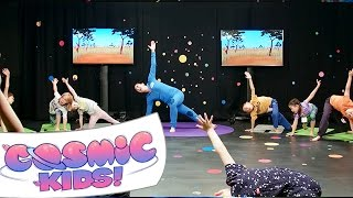 Cosmic Kids Yoga Live! | Lulu the Lion Cub
