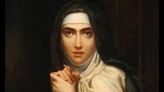 Santa Teresa de Jesús, la fundadora de las Carmelitas Descalzas.