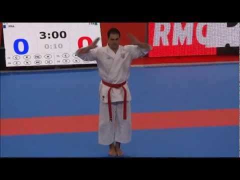 Kata UNSU by Luca Valdesi - 21st WKF World Karate Championships
