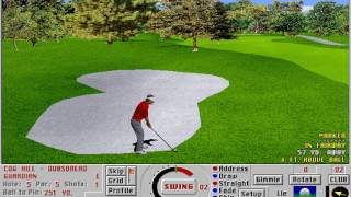 Links: Championship Course - Cog Hill Golf & Country Club (Access Software) (MS-DOS) [1995]