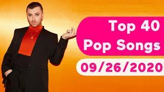 US Top 40 Pop Songs (September 26, 2020)