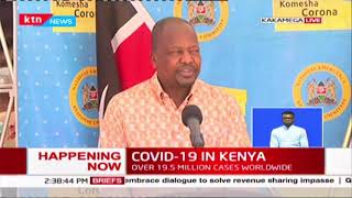Breaking: Kenya records 699 new COVID-19 cases, total caseload now at 25,837