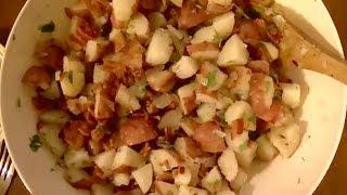 Recipe For Warm German Potato Salad ---so Good!!!