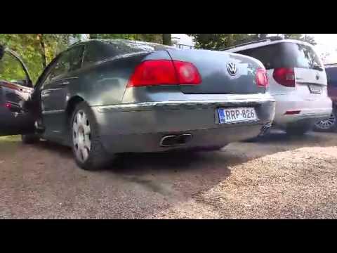 W12 straight pipes revvs