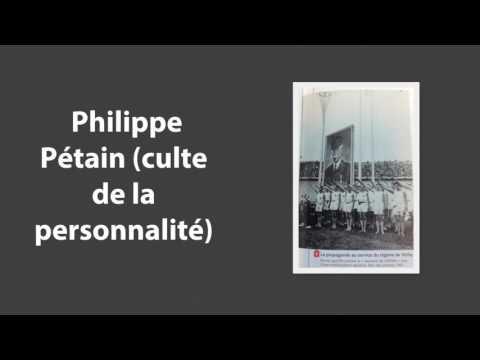 Vichy, un régime antirépublicain (1940 - 1944)
