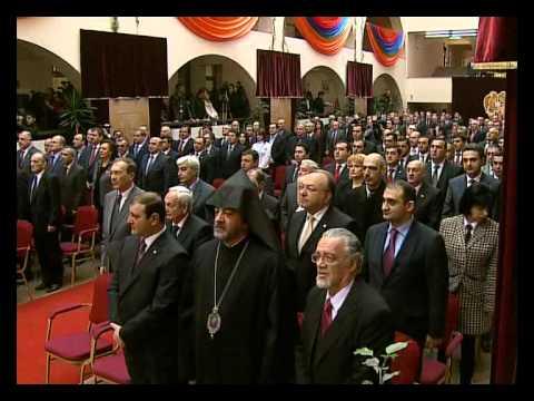 Yerevan's New Mayor Sworn-In