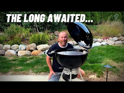 New Weber Kettle Master Touch with Hinge - First Impressions Review