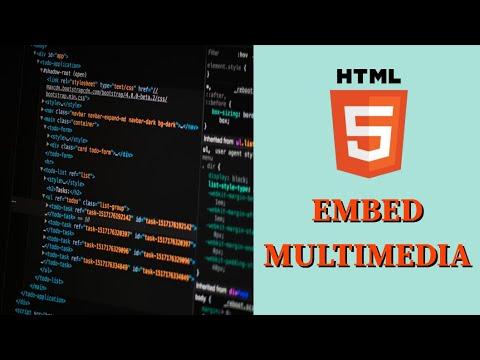 Embed multimedia in HTML5 - Basic HTML5 Fast