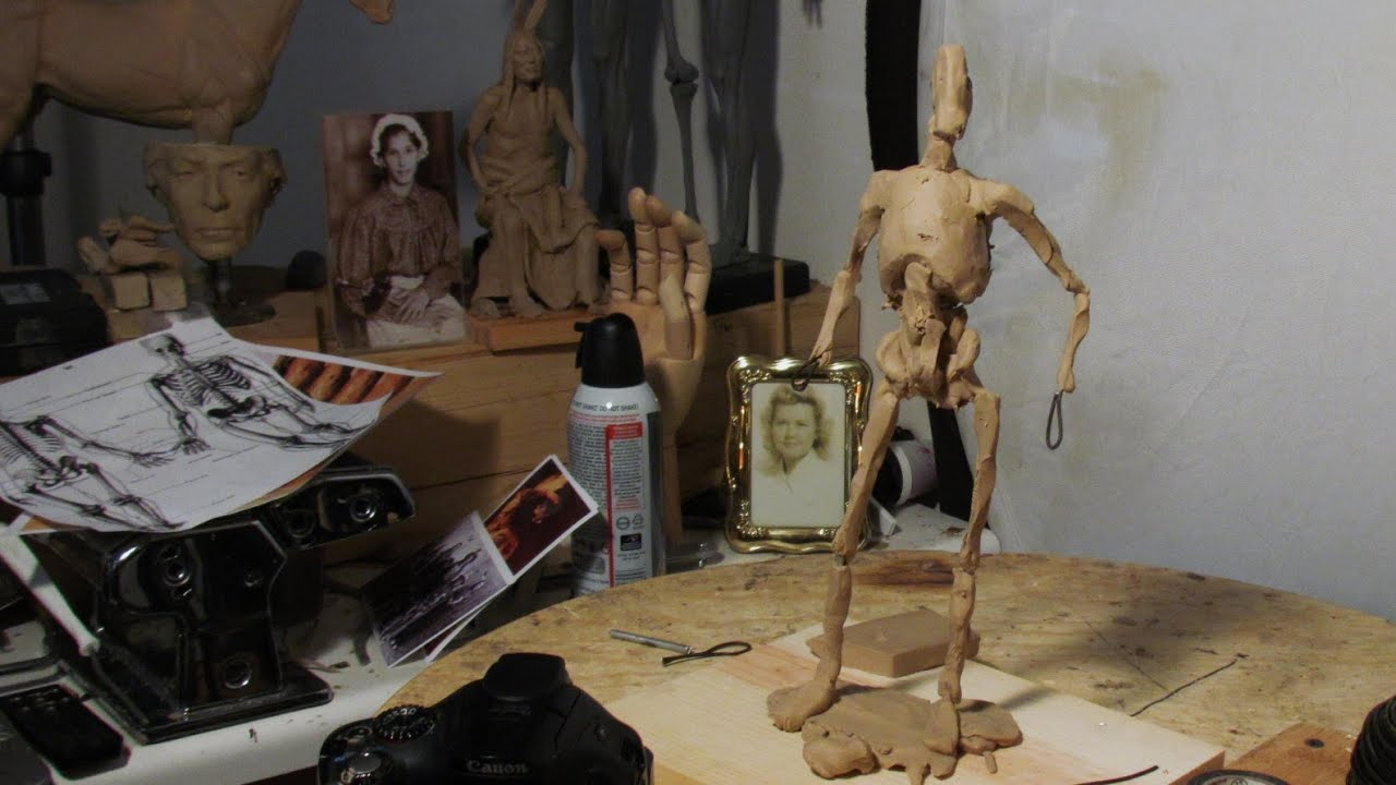 Armatures for Clay Sculpture