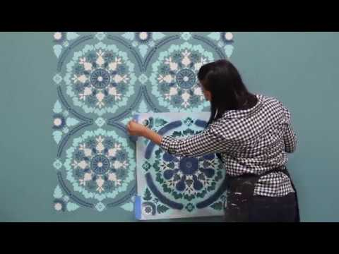 The Complete Guide To Wall Stencils Stenciling How Paint A With Mandala