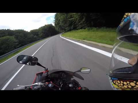 Crash Honda Cbr 600 F  /  Gopro Hero 4