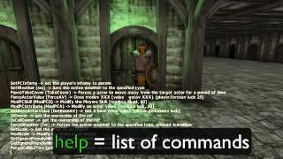 Oblivion Best Console Command Cheats ALL WEAPONS/ARMOR/EVERYTHING Tutorial