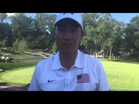 Peter Kim Discusses his Win at the Met Amateur at Baltusrol