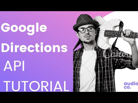 Google Maps Direction Api Tutorial Using Android Studio Youtube