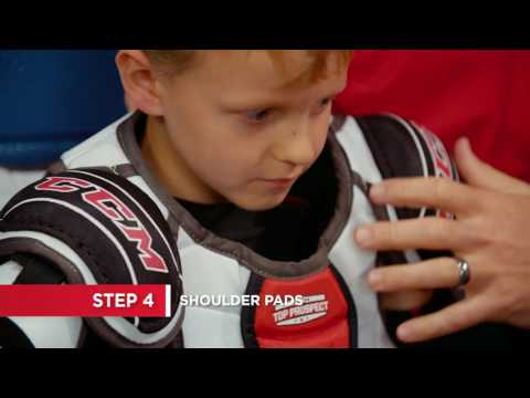 How to put on protective hockey gear (7 Steps)