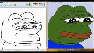 watch me draw pepe to sad music (an emotional journey)