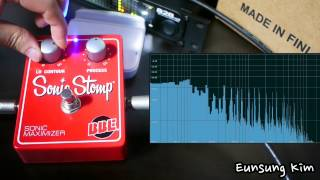 bbe sonic stomp eq test sonic maximizer review with organ for eq test