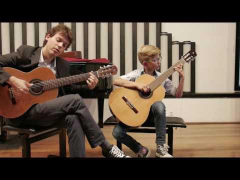 Z. de Abreu: Tico-Tico no Fubá (Gaj Ščuka, 2nd Year Guitar)