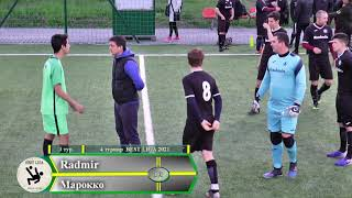 4 турнир BEST LIGA по мини футболу 3 тур 1 лига Radmir Марокко 4 3 11 05 2021