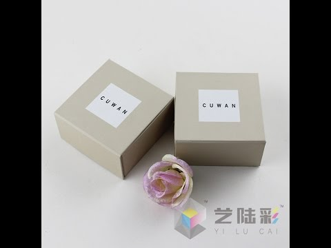 Yilucai Jewelry Box Factory Paper Jewelry Box Manufacturer