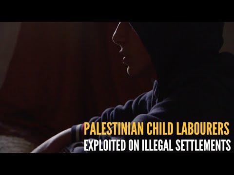 Palestinian Children exploited