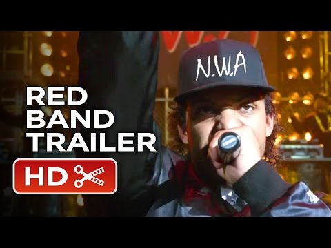 Straight Outta Compton Official Red Band Trailer #1 (2015) - Paul Giamatti Movie HD