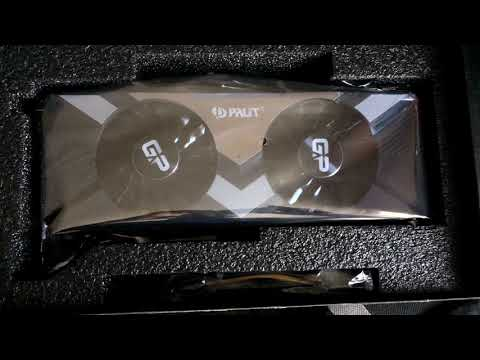 NVIDIA RTX 2080 Ti Palit Gaming Pro OC Graphics Card Unboxing