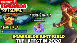 ESMERALDA BEST BUILD IN 2020 | TOP 1 GLOBAL ESMERALDA σvεяяυη 冬  MOBILE LEGENDS