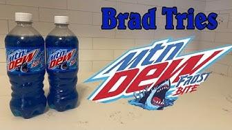 Brad Tries Mountain Dew Frostbite