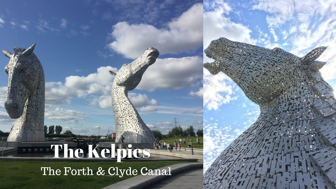 The Kelpies & The Forth & Clyde Canal