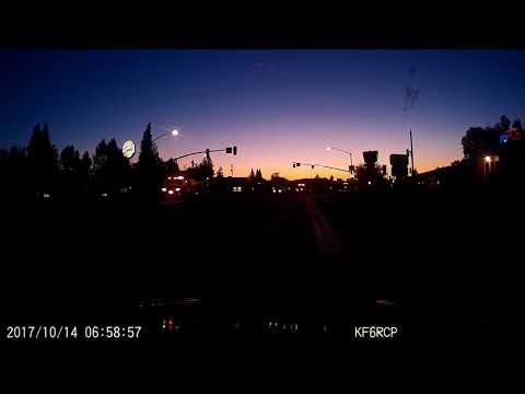 Cal Fire Engine Convoys passing Yuba City, CA