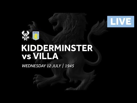 Pre-season 2017/18: Kidderminster Harriers v Aston Villa