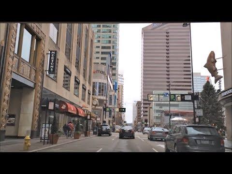 Driving Downtown - Cincinnati's Main Street - USA
