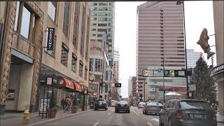 Driving Downtown - Vine St - Cincinnati Ohio