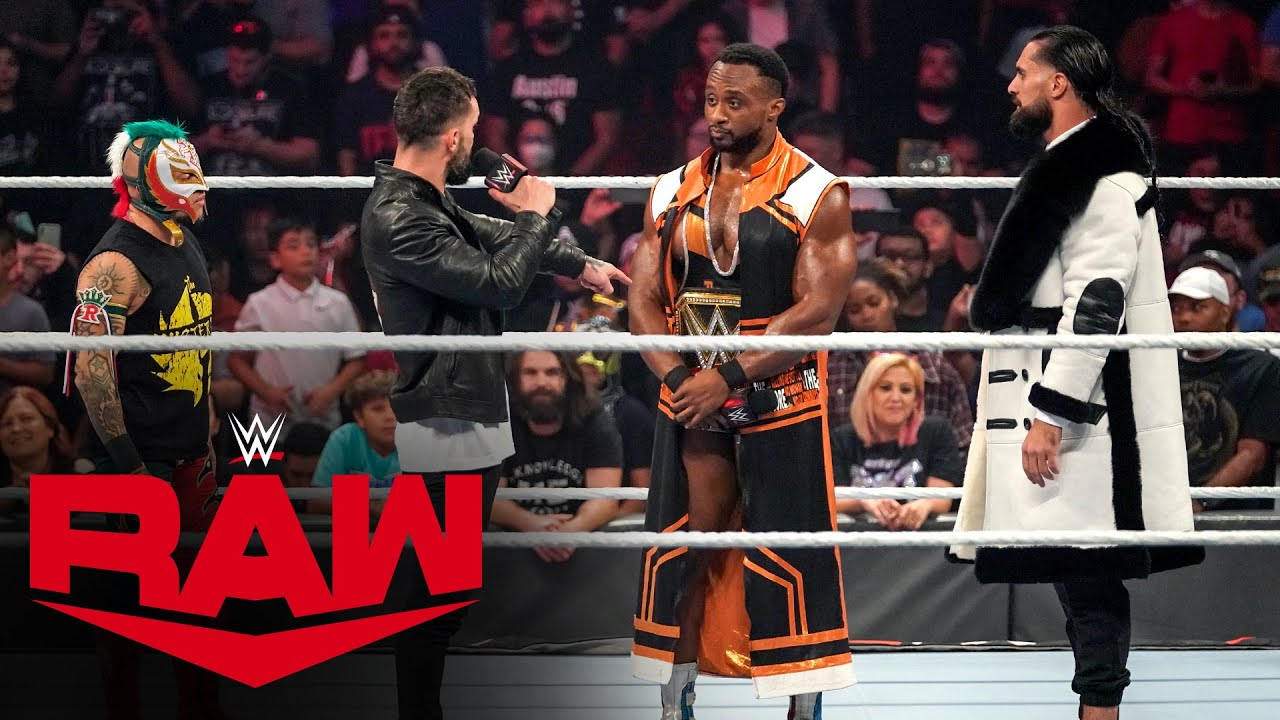 Download Rollins, Mysterio, Bálor and Owens step to Big E: Raw, Oct. 25, 2021